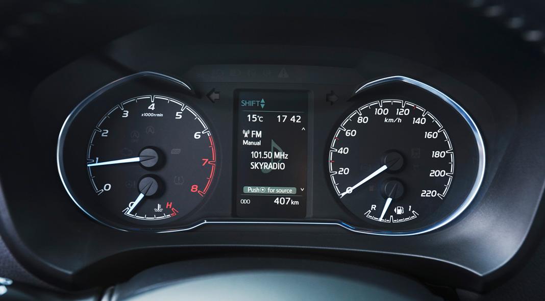 Панель приборов Toyota Yaris 2017