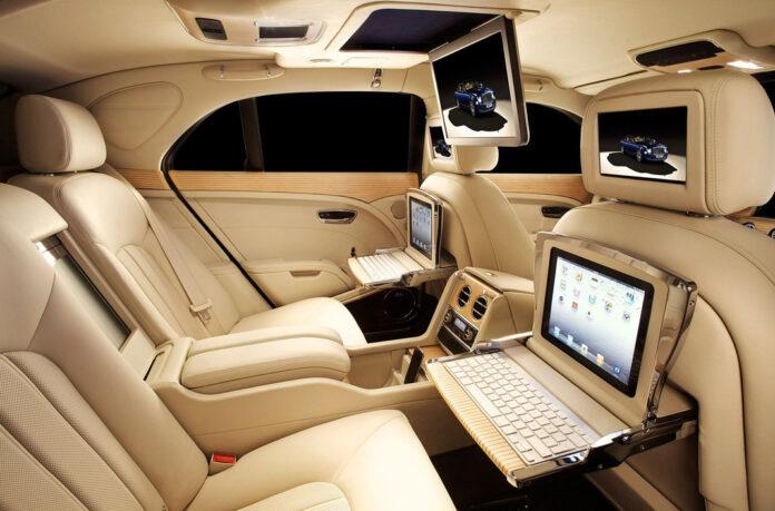 Bentley интерьер