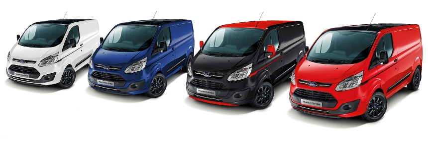 Ford Transit Custom Black Series