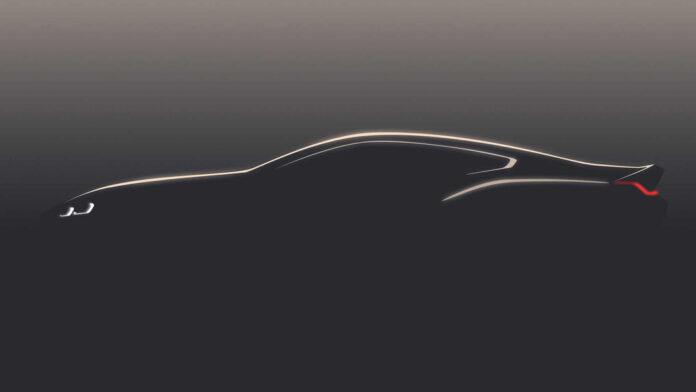 BMW 8-й серии тизер