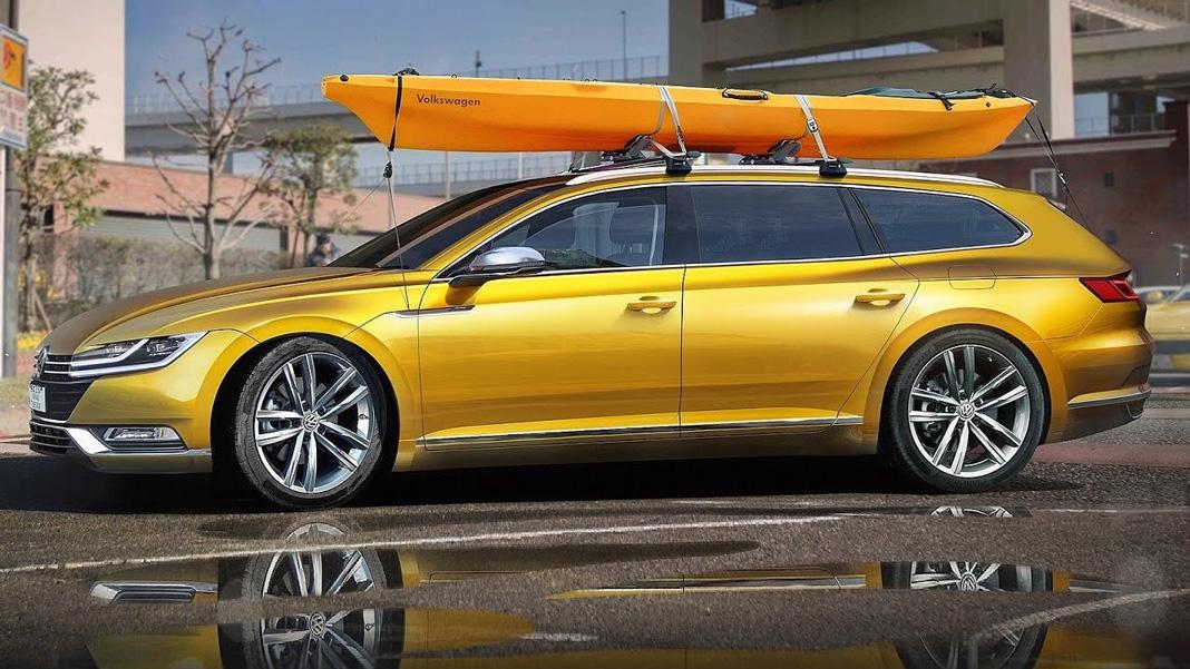 Volkswagen Arteon получит кузов универсал и двигатель V6