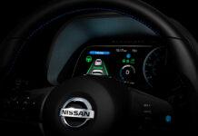 Приборка нового Nissan Leaf