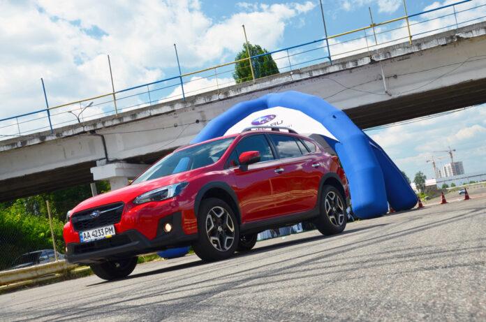 новый Subaru XV