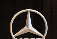 Mercedes-Benz diesel emblem