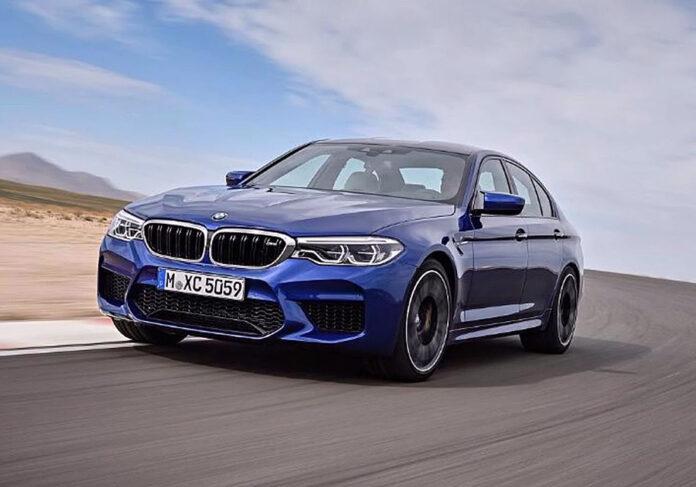 Новая BMW M5: