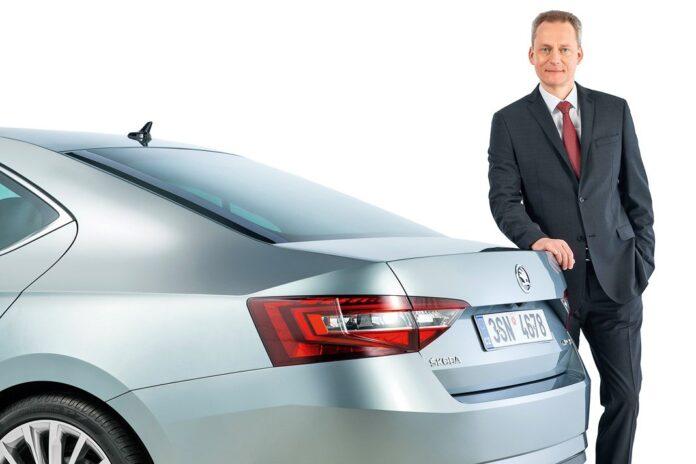 Кристиан Штрубе, глава департамента технического развития Skoda