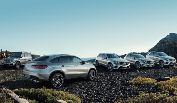 Mercedes GLA и GLC