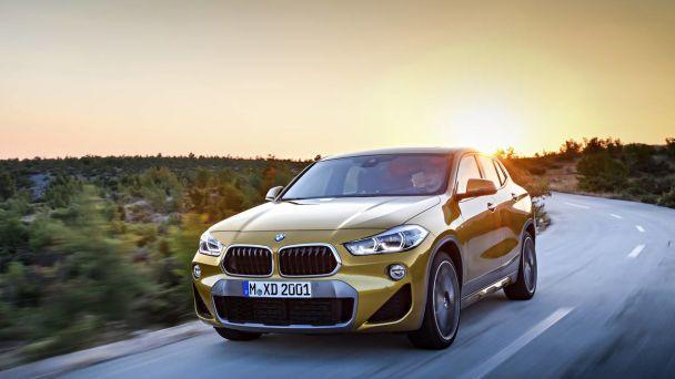 BMW X2 оказался меньше,но дороже своего брата