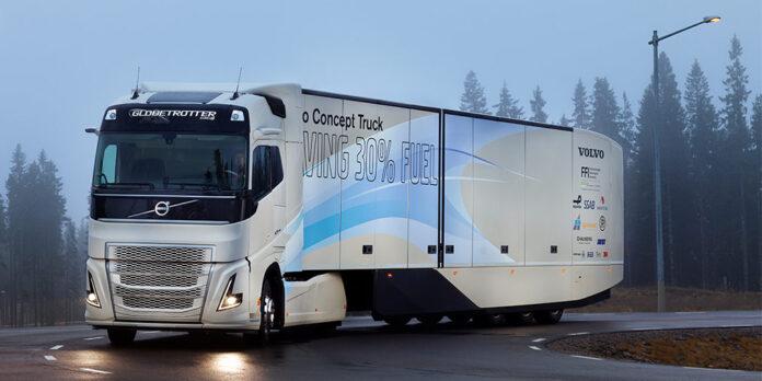 Volvo выпустит конкурента электрической фуре Tesla