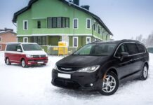 Volkswagen California и Chrysler Pacifica