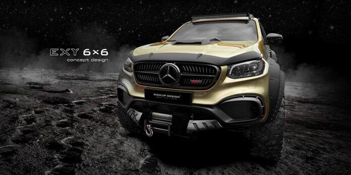 Автоновости,Mercedes-Benz X-Class Exy 6×6