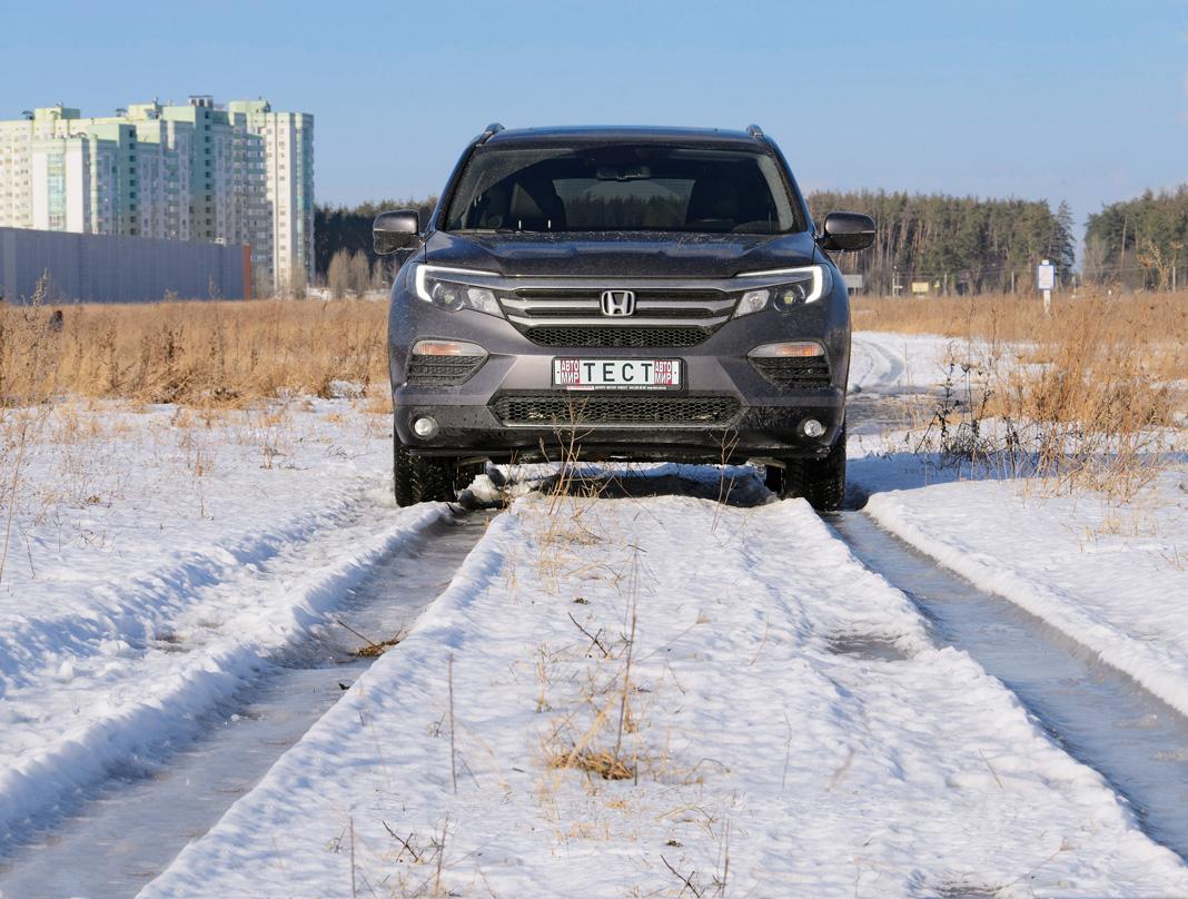 honda pilot 2017 - цены в Украине