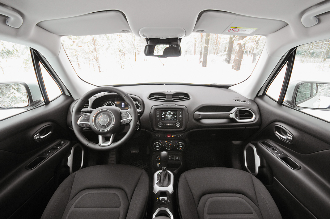 Интерьер Jeep Renegade