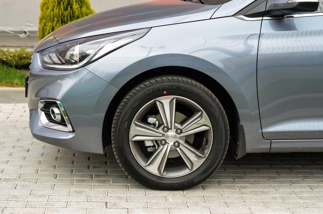 Колесо Hyundai Accent 2017