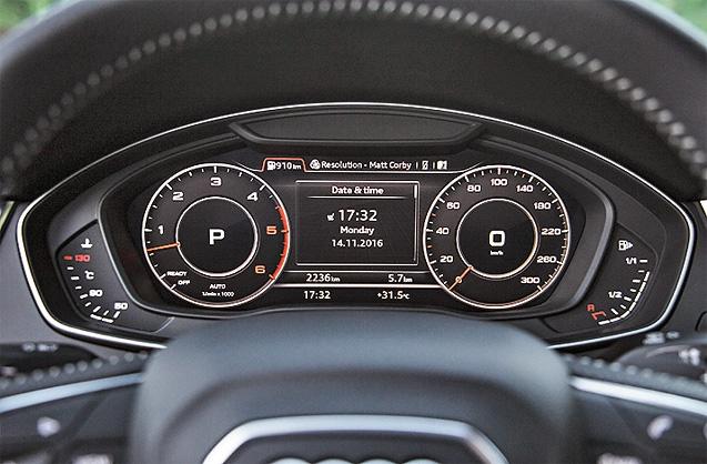 Панель приборов Audi Q5 2017
