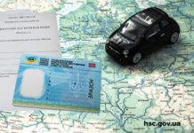 Водительское удостоверение Украина