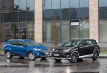 Ford Kuga против Toyota RАV4