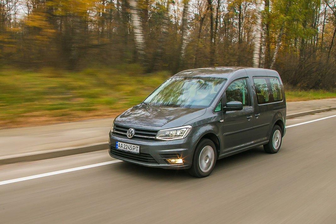 Тест-драйв Volkswagen Caddy. Денди среди