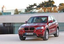BMW X3F25