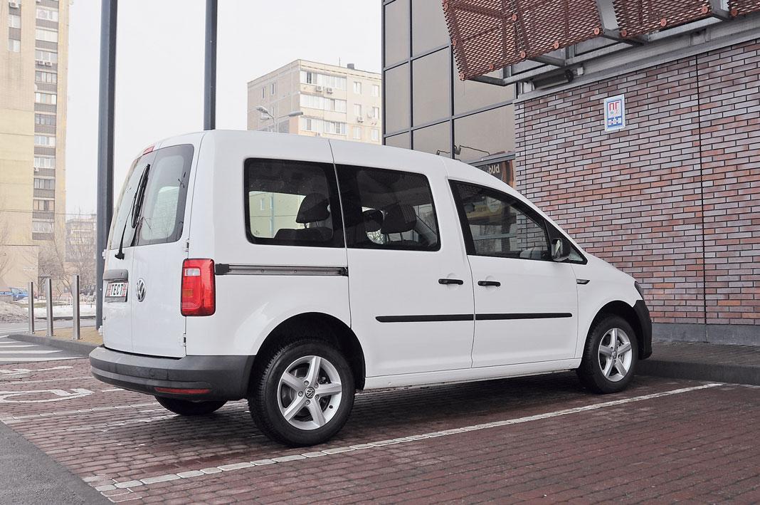 Volkswagen Caddy с ГБО