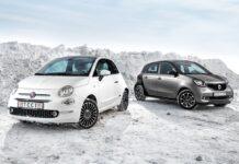 Fiat 500против smart forfour