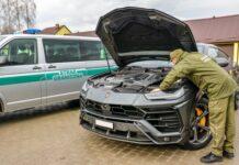 В Украине пытались ввезти угнанный Lamborghini Urus