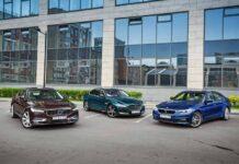 Volvo S90 против Jaguar XF против BMW 530d