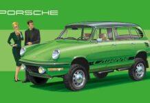 Как выглядели бы современные автомобили в прошлом веке