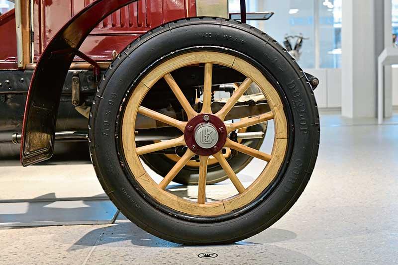 Эволюция шин и дисков