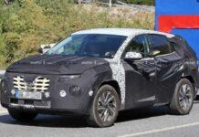 Hyundai вывел на тесты новый Tucson
