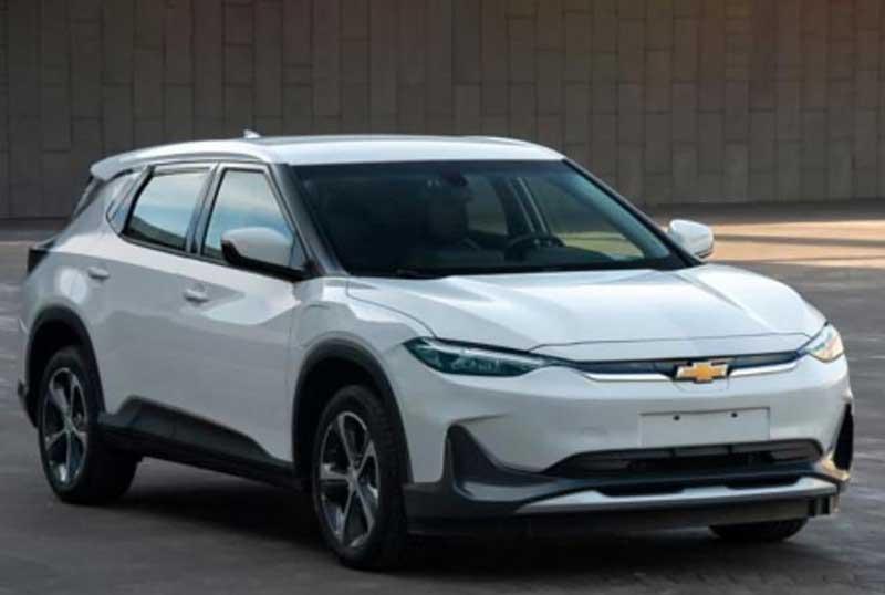 Электрокроссовер Chevrolet