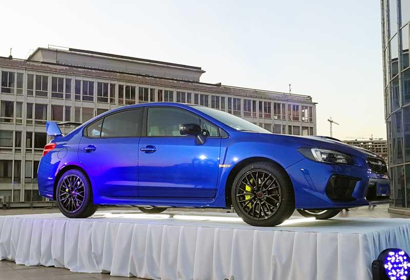 Subaru WRX STI вернулся в Украину