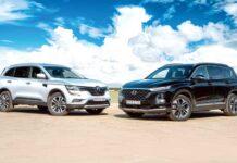 Renault Koleos против Hyundai Santa Fe