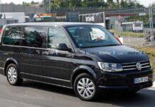 Volkswagen вывел на тесты Transporter седьмого поколения
