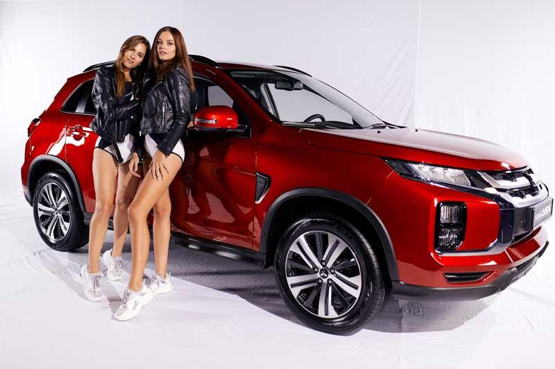 В Украине презентовали обновленный Mitsubishi ASX