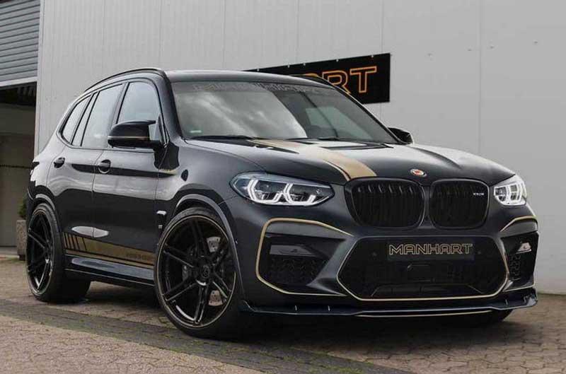 BMW X3 превратили в 630-сильный снаряд