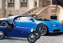 Bugatti выпустила электромобиль за 800 тысяч гривен