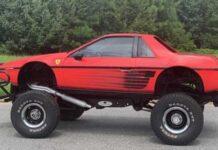 Американец самостоятельно построил кроссовер Ferrari