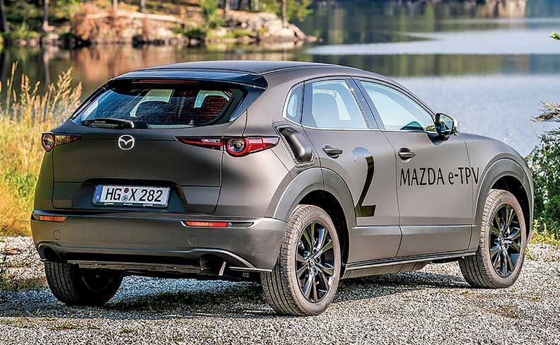 У Mazda появится электрокроссовер