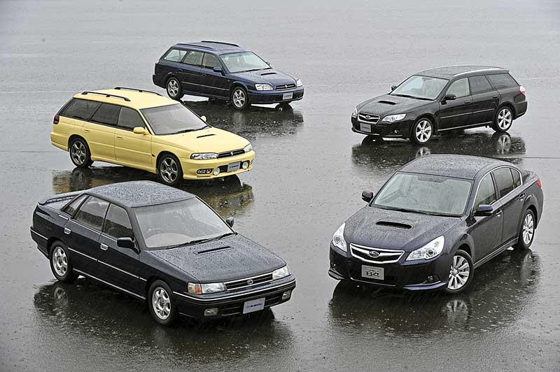 Subaru Legacy отмечает 30-летний юбилей
