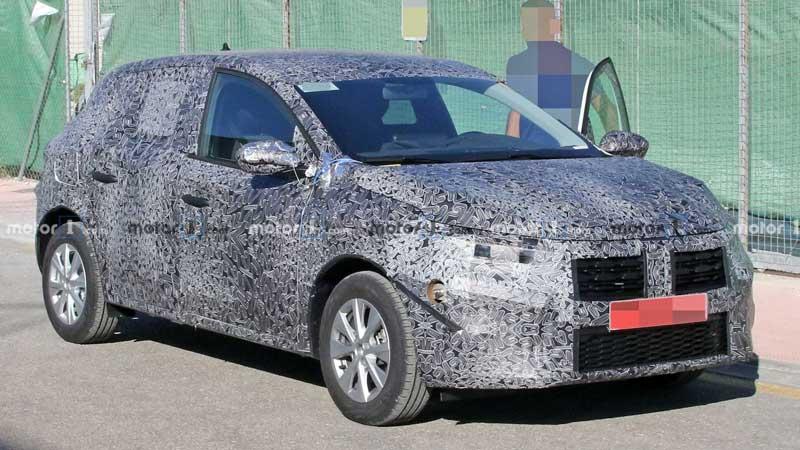 Renault Sandero нового поколения проходит испытания