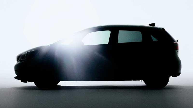 Honda показала первое фото нового Jazz