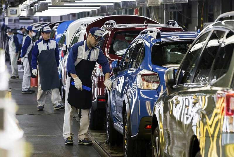 Subaru остановила сборку автомобилей