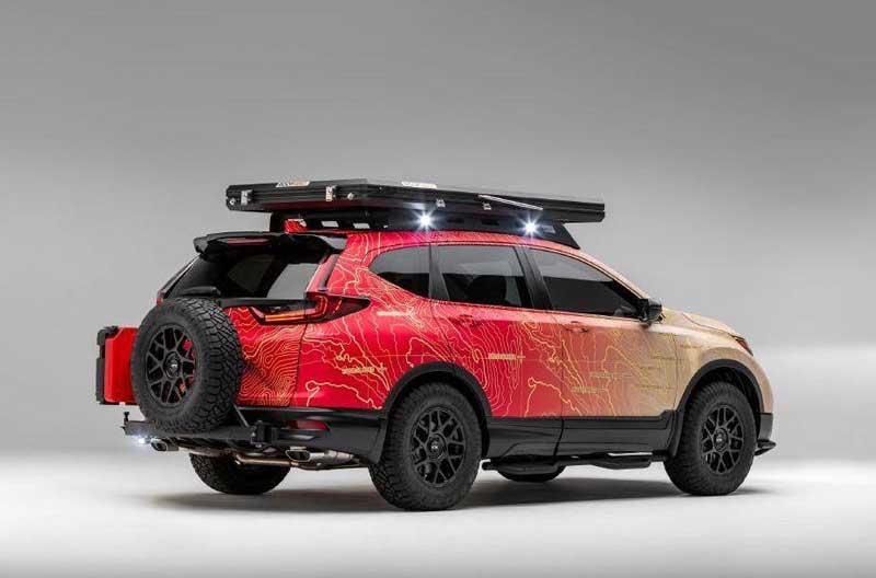 Honda CR-V превратили в брутальный внедорожник