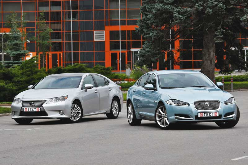 Сравнительный тест Lexus ES и Jaguar XF. Бизнес-кейс