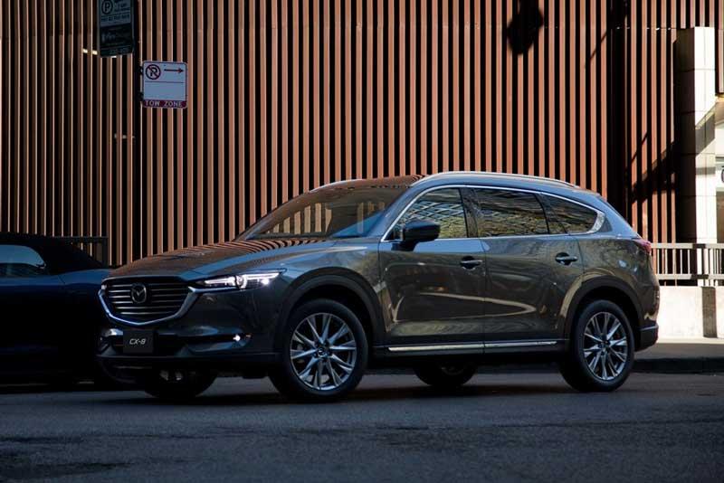 Mazda обновила кроссовер CX-8