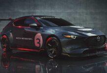 Хэтч Mazda3 подготовили для трека