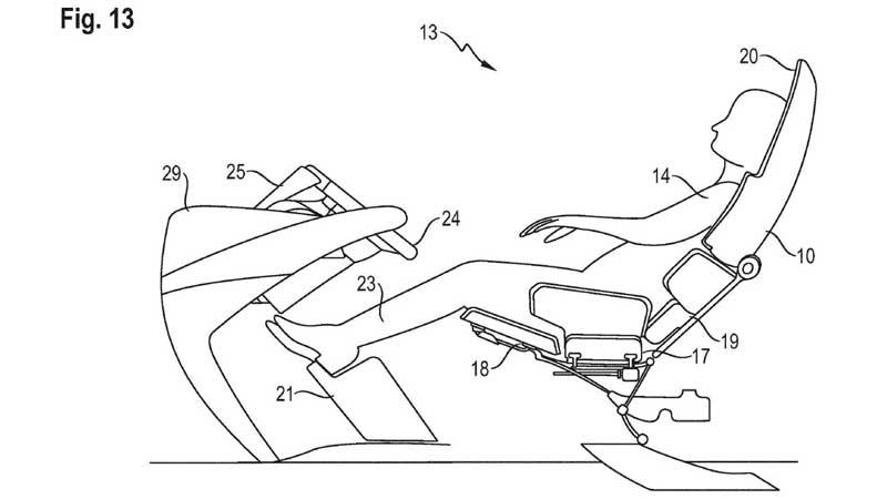 Porsche разработала сиденье, в котором водитель может спать
