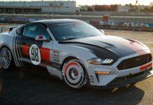 Ford Mustang превратили в ретрокар в стиле GT40