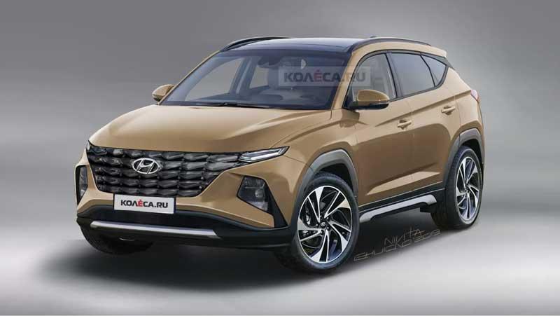 Как будет выглядеть Hyundai Tucson следующего поколения